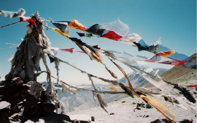 Prayer Flags at 5440m